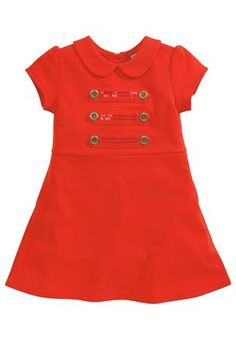 Buy Red Military Ponte Dress (3mths-6yrs) from the Next UK online shop