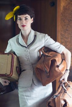 Prudence (Tuppence) Beresford - Jessica Raine in Agatha Christie's Partners in Crime, set in the 1950s (BBC TV series).