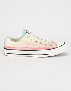 CONVERSE Chuck Taylor All Star Low Womens Shoes Orange