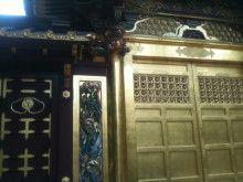 上野東照宮の唐門。