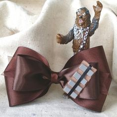 Chewbacca Inspired Hair Bow Star Wars Inspired by ne.me hairbows