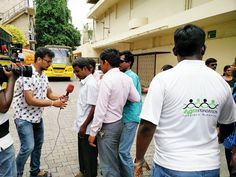KABALI MOVIE SHOW FOR VISUALLY CHALLENGED CHILDREN: Watching movies was a dream for visually challenged children so far but now the situation getting changed nowadays. Saturday our Agni foundation in associates with Radio Mirchi for this noble cause.