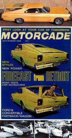 Convertible Fastback/Wagon Concept Car: 1966 Ford Magic Cruiser / Galaxie 5000
