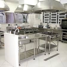 Commercial Kitchen Designers Stunning Small Cafe Kitchen Designs  Restaurant Saloon Designer Vanrooy Design Ideas