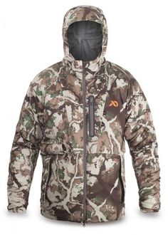 New First Lite Woodbury Mid Season Jacket Cold Weather Large Fusion Camo 8d040dd8bcab