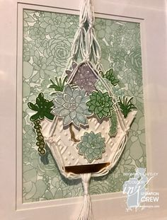 Cards For Friends, Site Design, Succulents Garden, Stampin Up, Challenges, Paper Crafts, Floral, Flowers, Projects