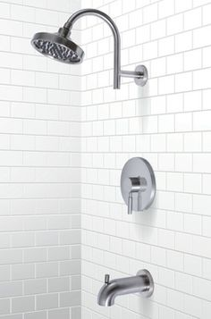 Essen Pressure Balance Tub and Shower Set with Lever Handle