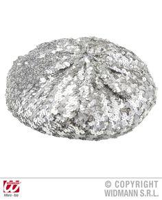 Kijk snel op bbbwebwinkel.nl om het volgende produkt  te bekijken Basco muts met zilveren pailletten BBwebwinkel altijd jouw feestje