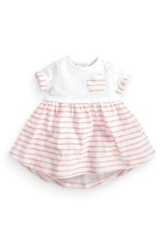 Buy Stripe Jersey Dress (0-18mths) online today at Next: United States of America