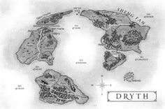 The Immarcescible Word: Celestial Empire Map of Dryth