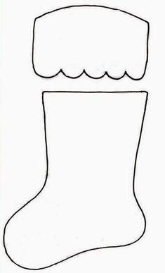 Discover thousands of images about patron calcetin para cubiertos en navidad Christmas Poinsettia, Felt Christmas Ornaments, Noel Christmas, Simple Christmas, Christmas Stockings, Christmas Decorations, Handmade Christmas, Christmas Stocking Pattern, Christmas Sewing