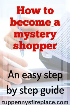 A step by step guide on how to become a mystery shopper. What will you be asked and how to register to be a mystery shopper. Mystery shopping can earn you freebies and money as a side hustle or even work from home. Make Easy Money, Ways To Save Money, Make Money From Home, Managing Your Money, Make Money Blogging, Money Saving Tips, Money Tips, Mystery Shopper, Online Work From Home
