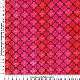 Absolutely Pink Medallion Cotton Fabric