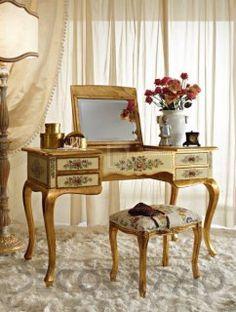 #toilet_table #table #bed_room #design #interior #furniture  туалетный столик Andrea Fanfani Classic, An.Fan21