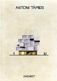 Cluster Magazine – Archist City – Le case ispirate ai grandi artisti dell'arte contemporanea