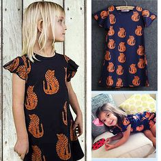 Cartoon Tiger Printing Clothes Kids Girls Summer Princess Party Dress Age 2-7Y in Clothes, Shoes & Accessories, Kids' Clothes, Shoes & Accs., Girls' Clothing (2-16 Years) | eBay