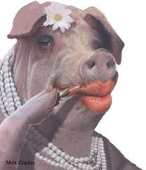 You can put lipstick on a pig but a pig is still a pig. Bless your heart. You try so, so hard..:(