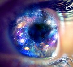 Woah... Seeing the universe through someone else's eyes taken literally. ;)