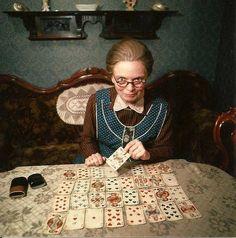 Heidi Kabel in der Hauptrolle als 'Die Kartenlegerin' 1968