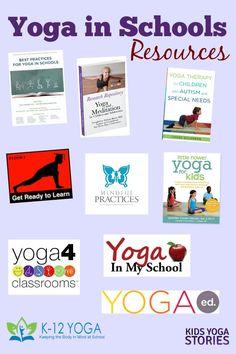Yoga in Schools Resources Kids Yoga Stories Kids Yoga Printables, Preschool Yoga, Childrens Yoga, Baby Yoga, Mindfulness For Kids, Prenatal Yoga, Yoga Teacher Training, Kids Health, Health Yoga