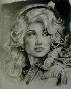 Dolly Parton by AshJG