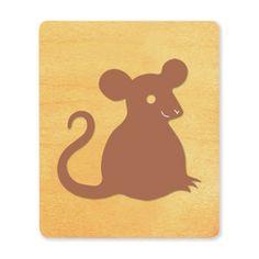 Ellison SureCut Die - Mouse (Basic Beginnings) - Large (#23760-LG)