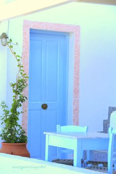 Blue...Ellada , Greece