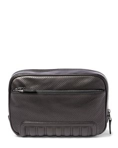 Perforated Leather Travel Case - Travel Bags  Bags & Business…
