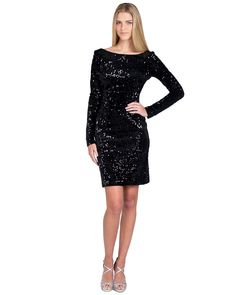 Make a statement at your next special event with a dress from Badgley Mischka. Shop signature evening gowns plus cocktail dresses, black tie styles and more. Short Black Sequin Dress, Sequin Dress With Sleeves, Black Sparkly Dress, Party Dresses With Sleeves, Gold Sequin Dress, Cocktail Attire For Women, Sequin Cocktail Dress, Sequin Party Dress, Rehearsal Dinner Dresses