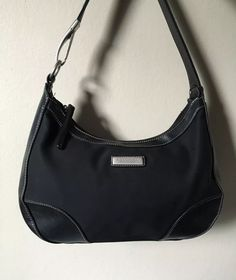 Kenneth Cole Reaction Women's Black Canvas Hobo Bag   | eBay
