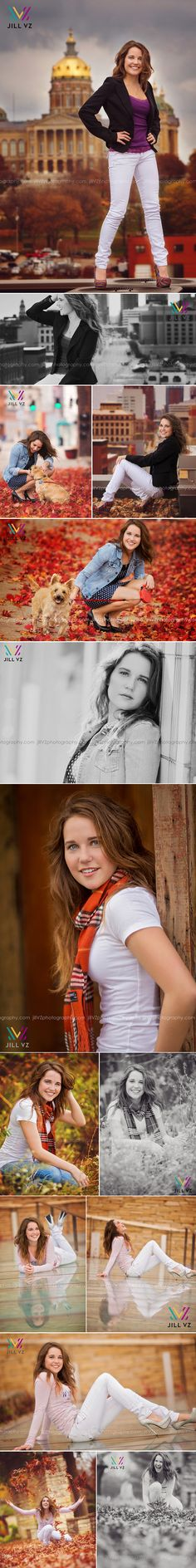 Jill VZ Photography » Unique custom high school senior portrait art experience for the Des Moines, West Des Moines, Johnston & Waukee area (Iowa) and beyond