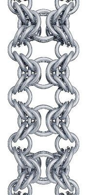 Free Chainmail Patterns Chain Maille   ... Chain Maille Free Instructions http://pinterest.com/akastacy/chain