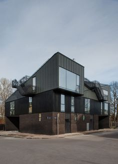 Apartments Designed for two Families by NRJA Architecture in Riga, Latvia