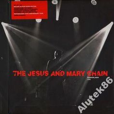 THE JESUS AND MARY CHAIN - BAROWLANDS LIVE- MINT