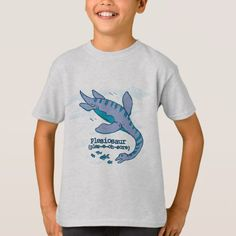 How do you say Plesiosaur kids dinosaur t-shirt - click to get yours right now!