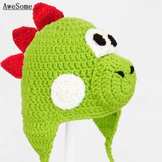 Free-shipping-Crochet-font-b-Baby-b-font-font-b-Girl-b-font-Boy-Yoshi-Green.jpg (800×800)
