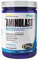 GASPARI NUTRITION Aminolast 420g - preparat skomponowny z uwzględnieniem najważniejszych aminokwasów z grupy BCAA. Zapobiega katabolizowaniu mięśni i przyspiesza regenerację mięśni. #gaspari #sport #zdrowie #fitness #suplementy