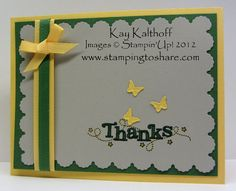 Outlined Occasions- Stampin Up