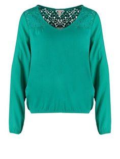 Esprit Bluzka z długim rękawem jewel green