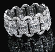 DIAMOND BRACELET, VAN CLEEF & ARPELS, 1927