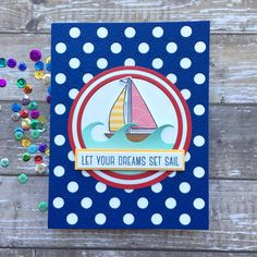 Sharp Designs: The Card Concept #138- Summer Fun Hey Gorgeous, Specialty Paper, Fun Challenges, Simon Says Stamp, Hero Arts, Nautical Theme, Pattern Paper, Summer Fun, I Card