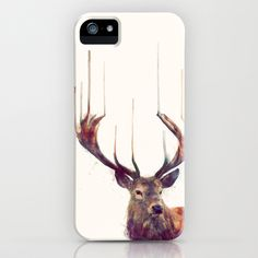Red Deer // Stag iPhone Case by Amy Hamilton - $35.00