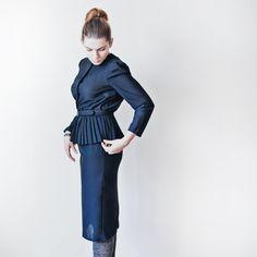 Vintage Dress // Cocktail Dress by Springjuste on Etsy, $40.00