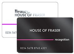Welcome to the Recognition Reward card - House of Fraser