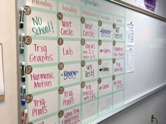My Secondary Math Classroom - Life on Wallace Rd Middle School Classroom, Classroom Setup, Classroom Organization, Future Classroom, Classroom Management, English Teacher Classroom, 7th Grade Classroom, Red Classroom, Classroom Hacks