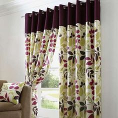 Wide range of pencil pleat and eyelet curtains from Dunelm. All curtain accessories such as net curtains and bead panel curtains as well as curtain poles and fitting available for home delivery. Lounge Curtains, Curtains Dunelm, Cute Curtains, Lined Curtains, Curtains Living, Conservatory Dining Room, Dining Room Windows, Curtain Patterns, Curtain Designs