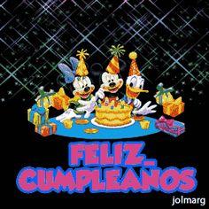 Resultado de imagen de gifs animados feliz cumpleaños