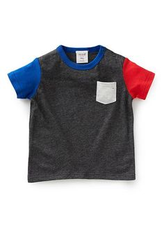 Baby Clothes | Bb Colour Block Tee | Seed Heritage