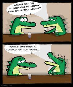 El cocodrilo de Lacoste