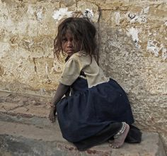 Child of the Streets - pray for them all even though they are unknown to us. H.